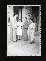 1950s BRITISH COLONY BUILDING STREET YOUNG MAN NEW Vintage Hong Kong Photo #1279
