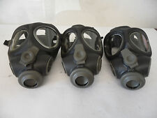 3 x Scott M95 Full Face Respirator NBC Gas Mask Swat Military Police Prepper