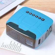 LED Pocket 3D Projektor Mini Beamer Heimkino Voll HD 1080P USB TF HDMI AV