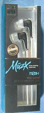 ALTEC LANSING MZX106W MuzX Noise Isolating Earphones iPod iPhone & MP3 Players