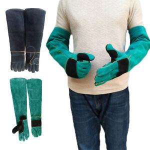 1Pair Bite Animal Handling Gloves Training Bite Anti-scratch Protective EH