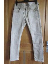 H&M Jeans hellbraun beige (Gr. 31/32) Waist: Low, Leg: superslim