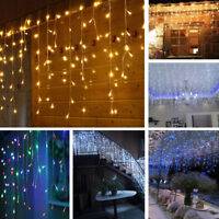 5M Led String Fairy Lights Indoor/Outdoor Garden Curtain Christmas Party Wedding