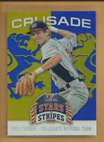 Trea Turner RC 2015 USA Stars & Stripes Crusade Rookie Card # 93 Nationals