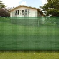 Fence Privacy Screen Mesh Green Windscreen Fabric Netting Outdoor Yard 8 sizes