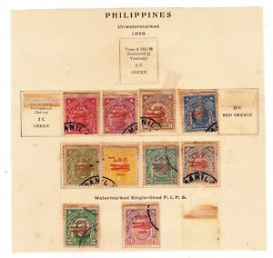OLD US - PHILIPPINES STAMPS - E