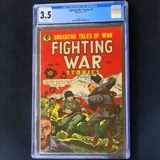 Fighting War Stories #1 (1952) 💥 CGC 3.5 💥 2nd HIGHEST! Story Comics Comic