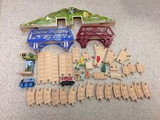 Lot Learning Curve Thomas wood Bridges Mountain inclines 2 engines people tree