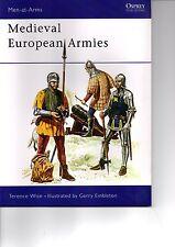 OSPREY Men at arms 50: Medieval European Armies (Mittelalter) / NEU!