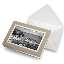 Greetings Card (Biege) BW - St Ives Cornwall England UK Travel  #43584