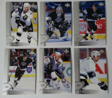1996-97 Upper Deck UD Series 2 Los Angeles Kings Team Set of 6 Hockey Cards