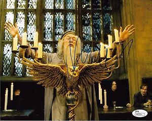 Michael Gambon Harry Potter Autographed Signed 8x10 Photo JSA COA #2