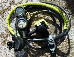 scuba diving regulator set