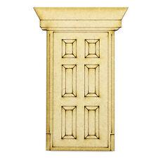 Mdf De Artesanía espacios en blanco 3mm Diseño de la puerta de Hadas XL 200x133cm K-formas de corte láser de Madera