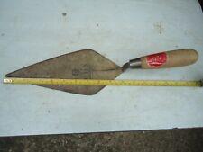 "Vintage WHS 10"" Brick Trowel Made in England VGC"