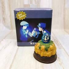 Castle Of The Sky Laputa Flying Stone Studio Ghibli Light-Up Figure F/S Used