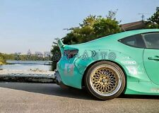 FRP ROCKET BUNNY VER.2 STYLE REAR OVER FENDER +60M FOR TOYOTA FT86 GT86 FRS BRZ