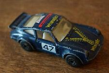 Matchbox Die Cast Porsche 911 Turbo 1978 #47 Wrangler Jeans Zip Design Valvoline