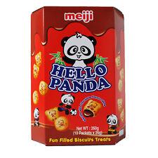 Hola sabor a chocolate Panda relleno Galletas - 10 X 26G