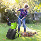 Best Wood Chippers - Electric Garden Shredder Wood Chipper w/ Collecting Bag Review