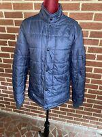 Volcom Blue Puffy Coat Jacket Large L