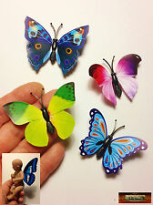 M00079-C01 MOREZMORE 4 Mini Fairy Magnet Butterfly Wings for OOAK Doll Baby A60