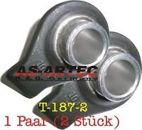 2 Pcs Small Tractor Lower Link Weld-On Ball cat. 1 19mm