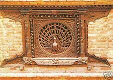 "AK Ansichtskarte Nepal ""Peacock Window,Bhadgaon""Holzsch"