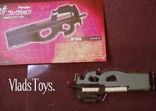 Furuta Gun Mania 1:6 #6 P90 Submachine Gun Series +NOT LIZE SIZE PLASTIC TOY+