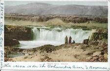 Celilo Falls OR Handsome View Vintage postcard postally used in 1906