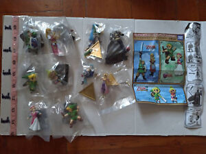 Takara Tomy Legend of Zelda Ocarina of Time & Musou Link figure gashapon 10 pcs