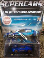 MAZZANTI EVANTRA 771 2016 SUPERCARS GT C. 1:43 #70 - DIE CAST MIB
