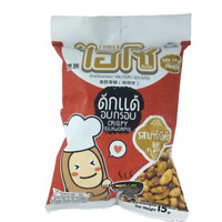 High Protein Snack Crispy Silkworms Edible Insect Meal BBQ Flavor Kid Party 15g