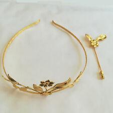 Goldene Hochzeit Schmuckset Diadem und Anstecknadel Jubiläumsschmuck Gold