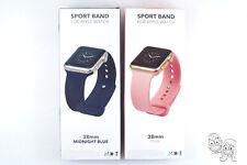2Pcs Bundle NEXT Sport Band Watch Strap for Apple Watch® 38mm 40mm - Pink & Blue