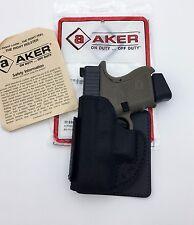 GLOCK 26 27 | Aker Leather 155 Pocket Protector Express Holster Black Ambi H155