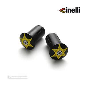 Cinelli Aluminum Handle Bar End Plugs Alloy Expander end Caps : SHERIFF