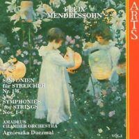 elix Mendelssohn - Mendelssohn: String Symphonies, Vol.1 [CD]