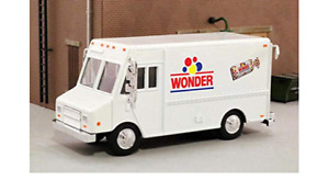 NIB O Scale  Diecast Nostalgic Wonder Bread Delivery Step-Van