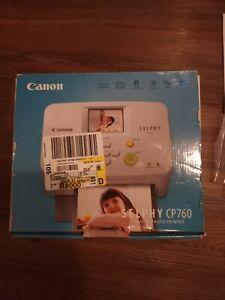 Canon Selphy CP760 Compact Photo Printer.