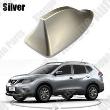 Silver Shark Fin Antenna With Radio Function For Nissan Rogue X-trail 2014 2015