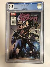 Young Avengers (2006) 10 (CGC 9.6 WP)  1st Cover Speed Kate Bishop as Hawkeye