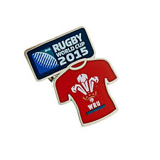 Rugby World Cup 2015 Wales RFU Jersey Pin