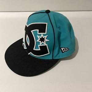 DC New Era 59 Fifty Cap/SnapBack Hat - Size 7 1/4 - 57.7cm - VGC - Free Post