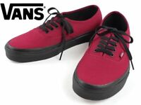 8fb8e49f82 Vans Authentic Unisex Black Sole Jester Red Skate Shoe Brand New In Box
