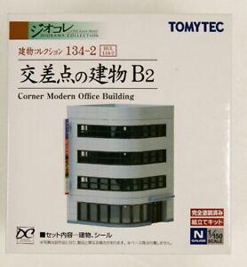 Tomytec (Building 134-2) Corner Modern Office Building B2 (N scale)