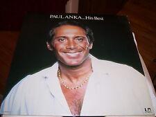 PAUL ANKA-HIS BEST-LP-NM-UNITED ARTISTS-HAVING MY BABY-DON'T LIKE TO SLEEP ALONE