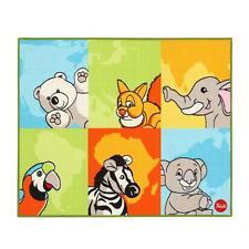 Tappeto camerette Trudi Animali nel mondo 100x120 cm P787