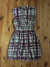MISS SIXTY KILLAH LADIES PURPLE SHIFT DRESS - MEDIUM
