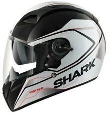 SHARK VISION-R S2 SYNTIC KRW BLACK/WHITE MOTORCYCLE HELMET - X LARGE *SALE*
